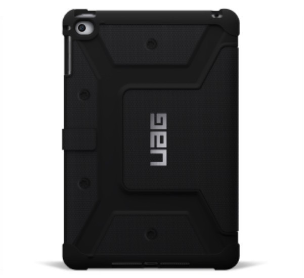 Urban Armor Gear Folio Scout case iPad Mini 4 zwart