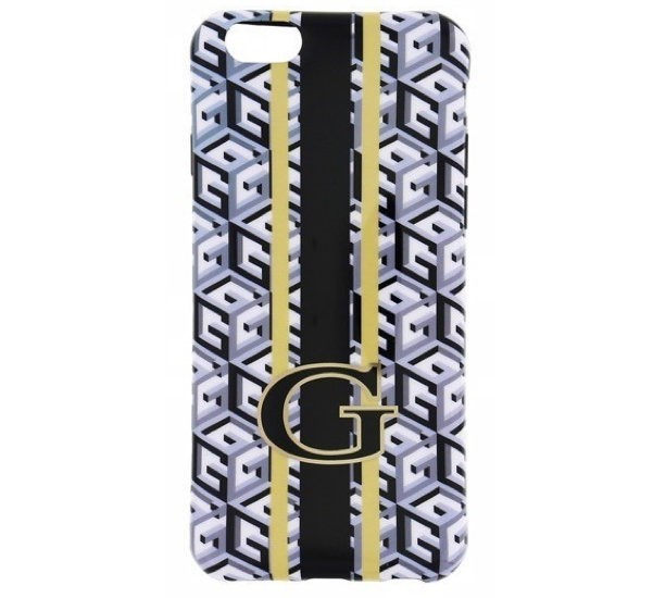 Guess G-Cube TPU Case iPhone 6(S) zwart