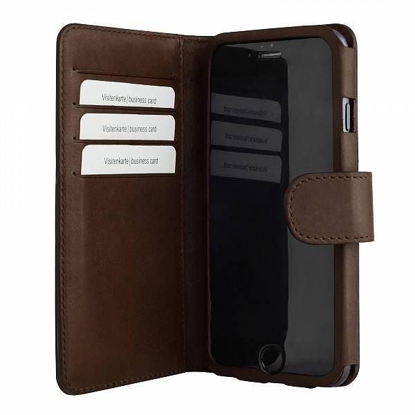 Bugatti Book case Milano wallet leer iPhone 6(S) Plus