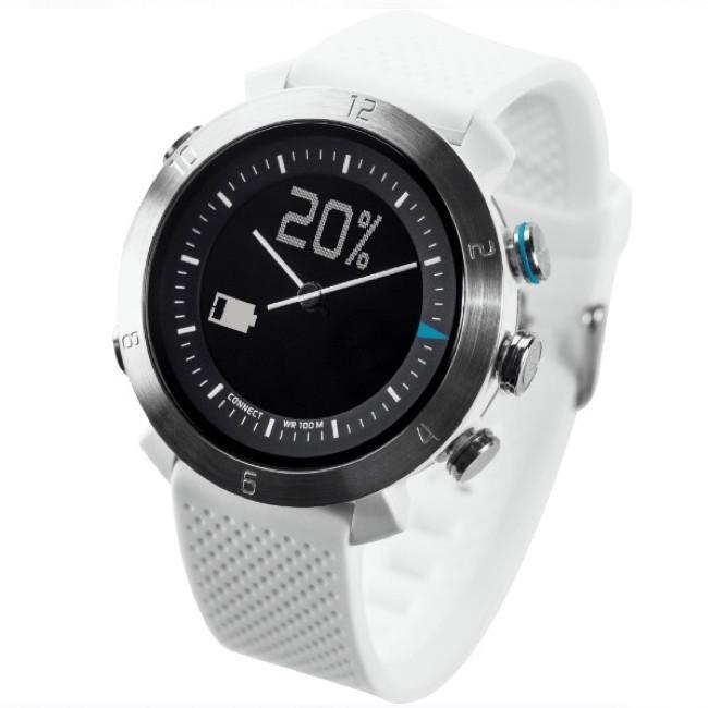 Cogito Smartwatch Fitness Tracker Classic White Alpine