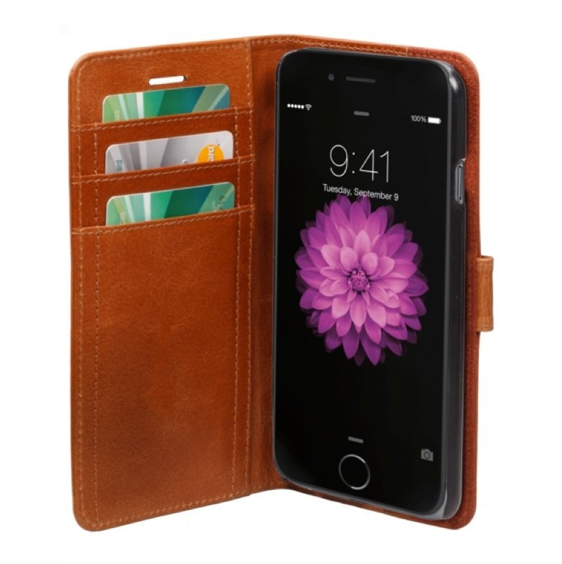 dbramante1928 leren wallet folio case iPhone 6(S)