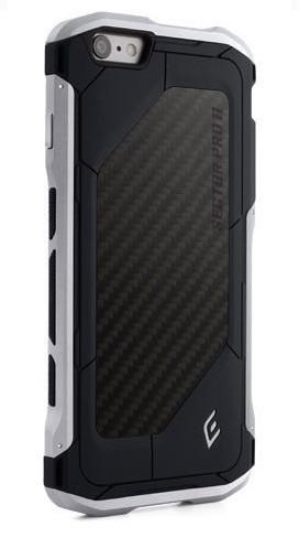 Element Case Sector Pro II iPhone 6(S) Plus zwart/zilver