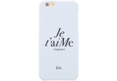 Fab Je t`aime hard case iPhone 6(S) wit