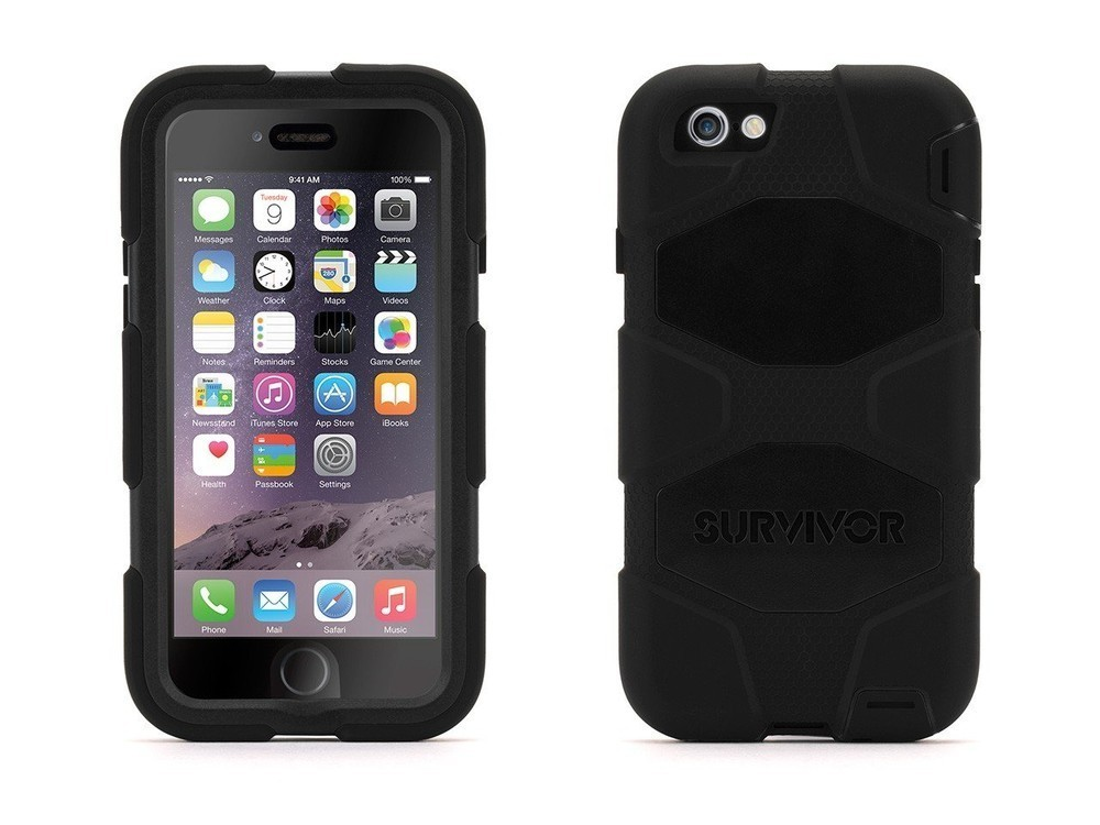 Griffin Survivor hardcase iPhone 6(S) zwart