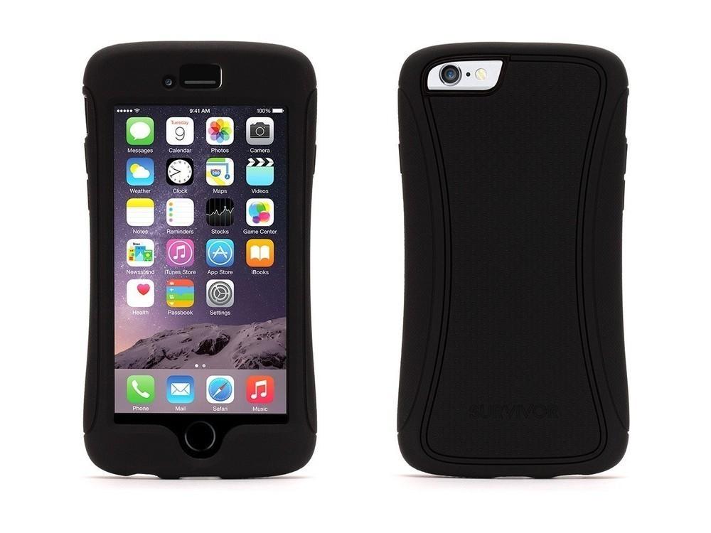 Griffin Survivor Slim hardcase iPhone 6(S) zwart