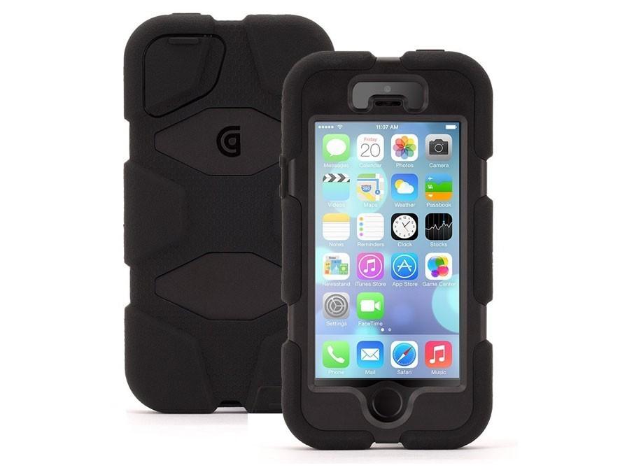 Griffin Survivor hardcase iPhone 5(S)/SE zwart