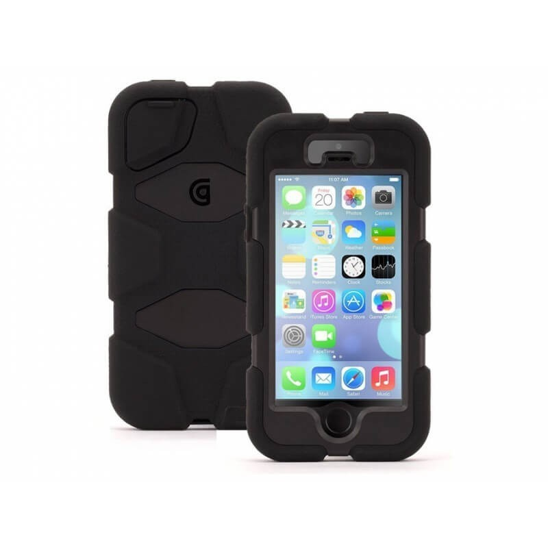Griffin Survivor All-Terrain hardcase iPhone 5(S) / SE zwart