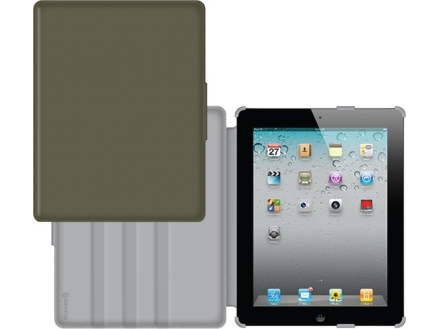 Griffin journal case iPad Air 1 groen