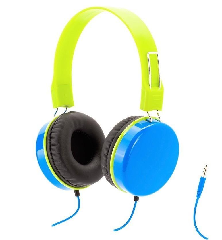 Griffin Crayola MyPhones hoofdtelefoon blauw/groen