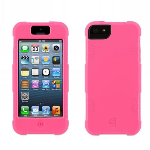Griffin Protector iPhone 5(S)/SE fluorescerend roze