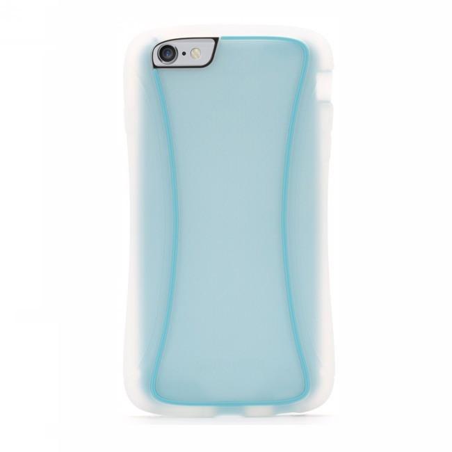 Griffin Survivor Slim iPhone 6(S) Plus transparant/blauw