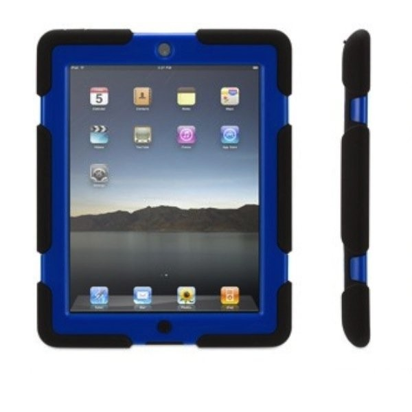 Griffin Survivor All-Terrain hardcase iPad 2/3/4 blauw/zwart