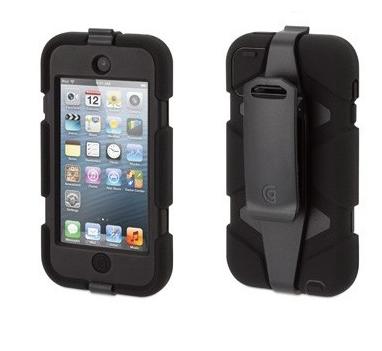 Griffin Survivor hardcase iPod Touch 5/6 zwart