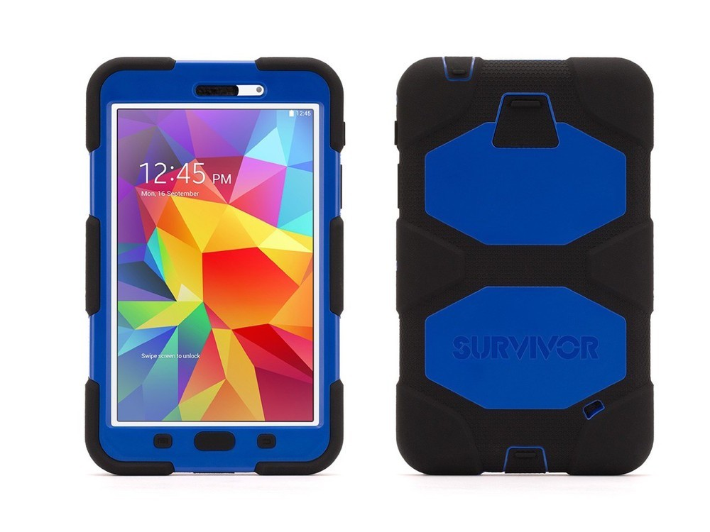 Griffin Survivor All-Terrain hardcase Galaxy Tab 4 7.0 blauw/zwart