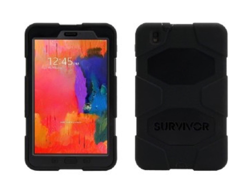 Griffin Survivor All-Terrain hardcase Galaxy Tab Pro 8.4 zwart