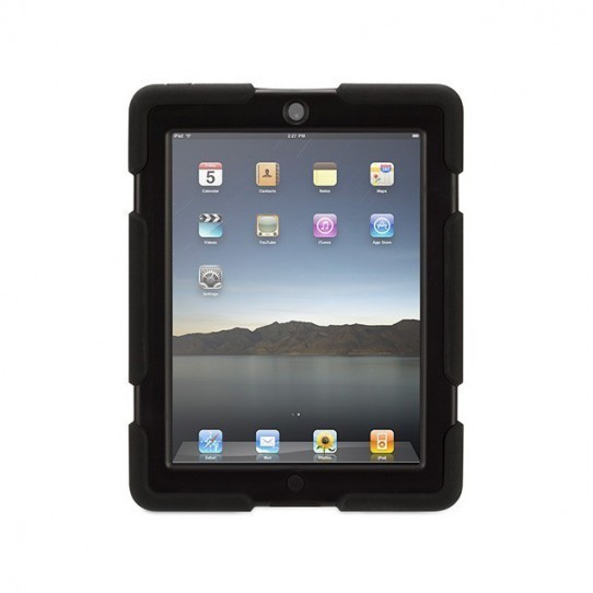 Griffin Survivor All-Terrain hardcase iPad 2/3/4 zwart