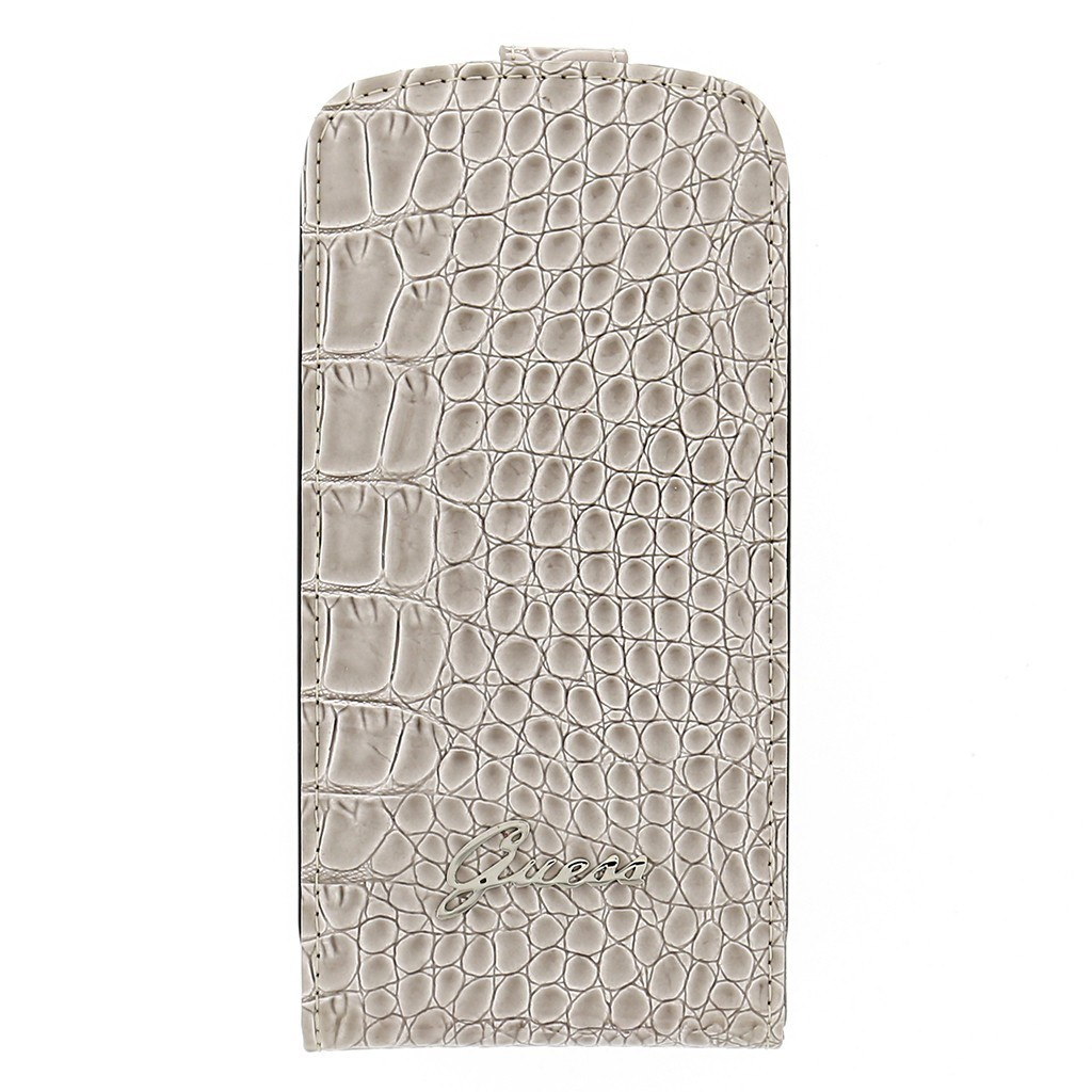 Crocodile Galaxy S3 Flip Case Beige