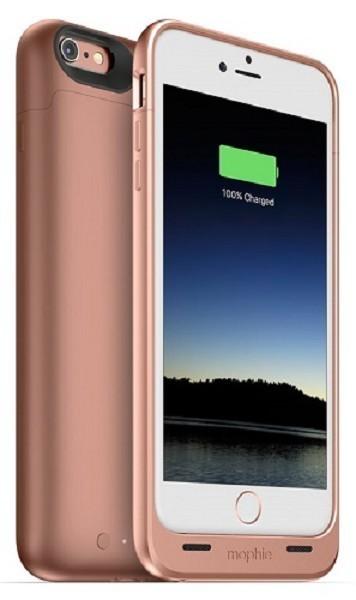 Mophie juice pack iPhone 6(S) Plus rose goud