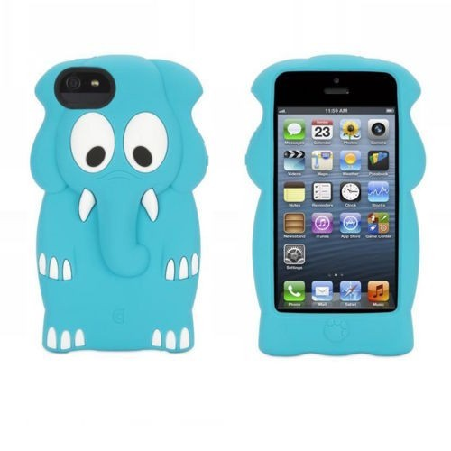 Griffin Kazoo iPhone 5(S) Elephant blauw