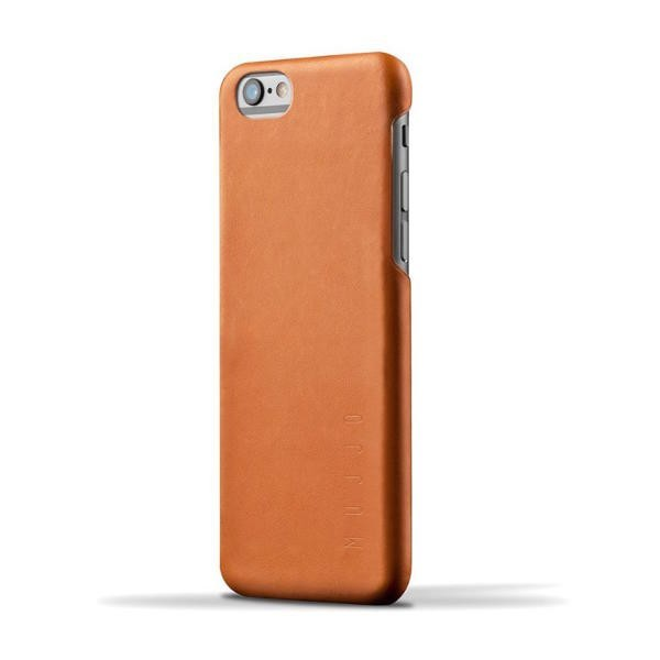 Mujjo Leather Case iPhone 6(S) Tan