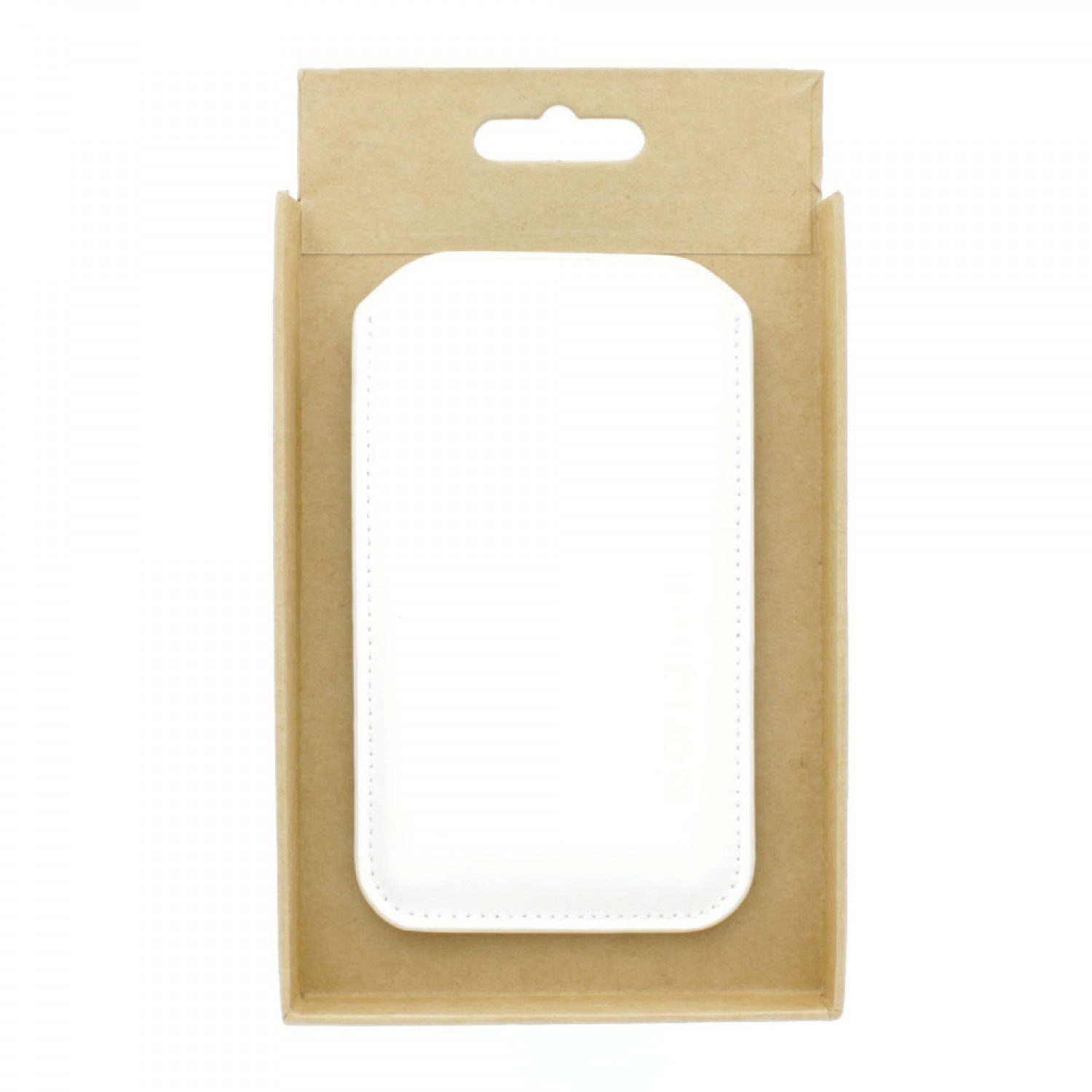 Muijo Sleeve iPhone 5(S)/SE Lederen Hoes wit