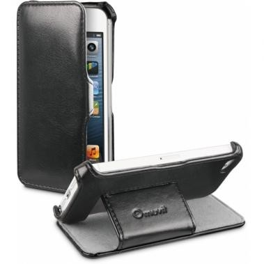 Muvit Folio Stand Case iPhone 5(S)/SE zwart