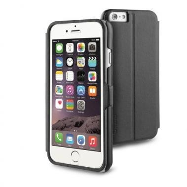 Muvit Full Window Front Stand Case iPhone 6(S) zwart