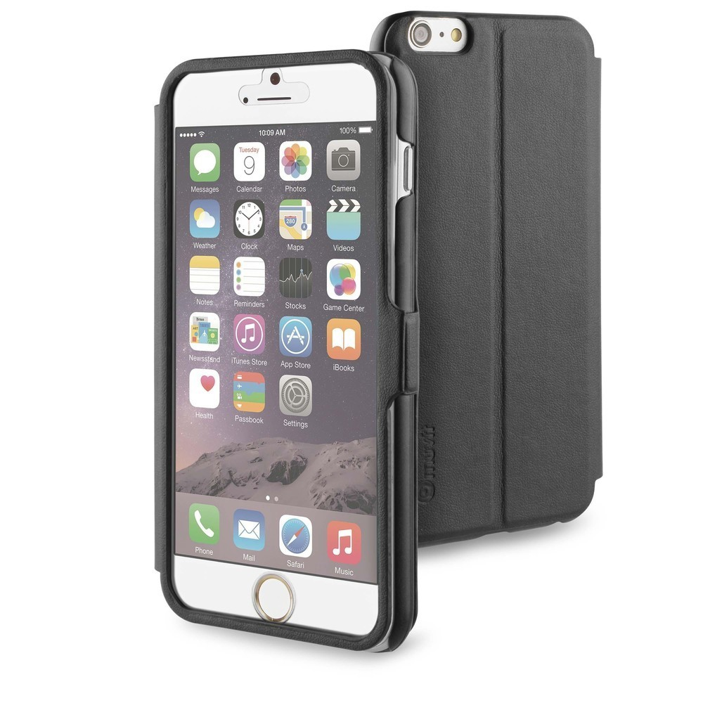 Muvit Full Window Front Stand Case iPhone 6(S) Plus zwart