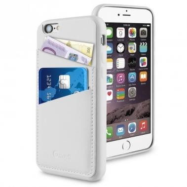 Muvit Leatherette Back Case iPhone 6(S) wit