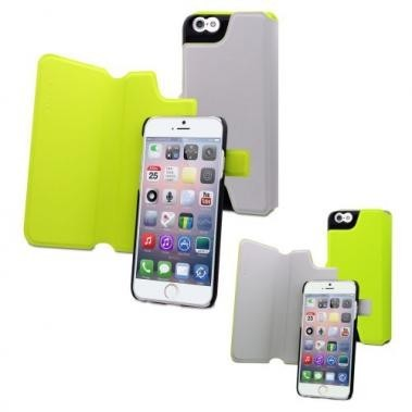 Muvit Magic Reverso Case iPhone 6(S) grijs/groen
