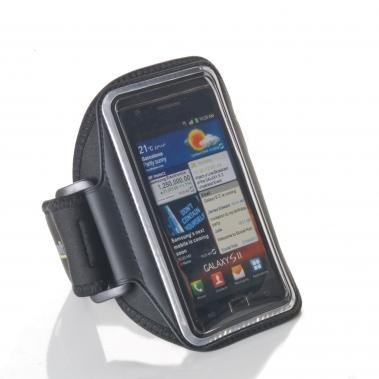 Muvit Ultra-Thin Universele Sport Armband iPhone 5(S)/SE/5C zwart