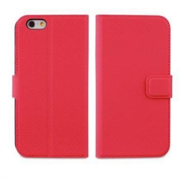 Muvit Wallet Case iPhone 6(S) roze