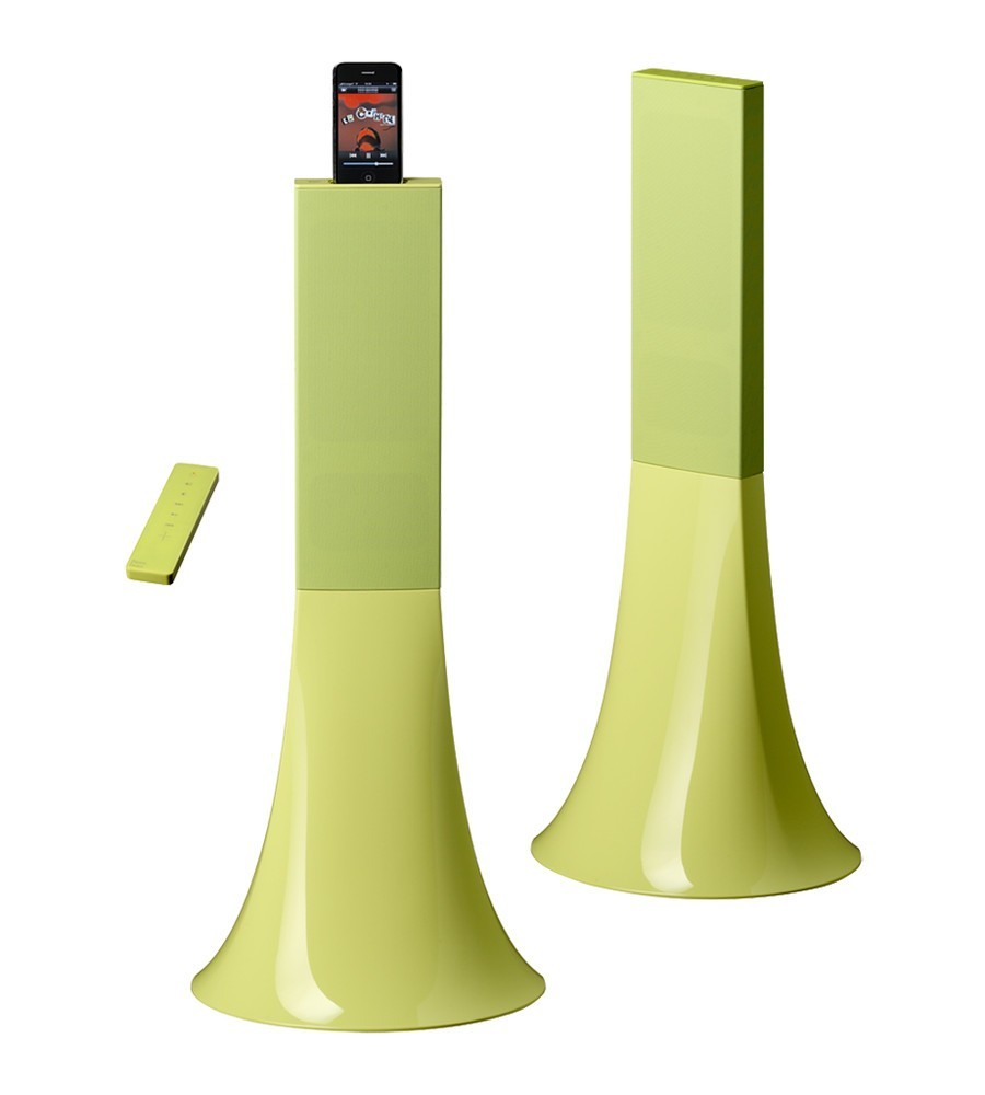 Parrot Zikmu speakers lime