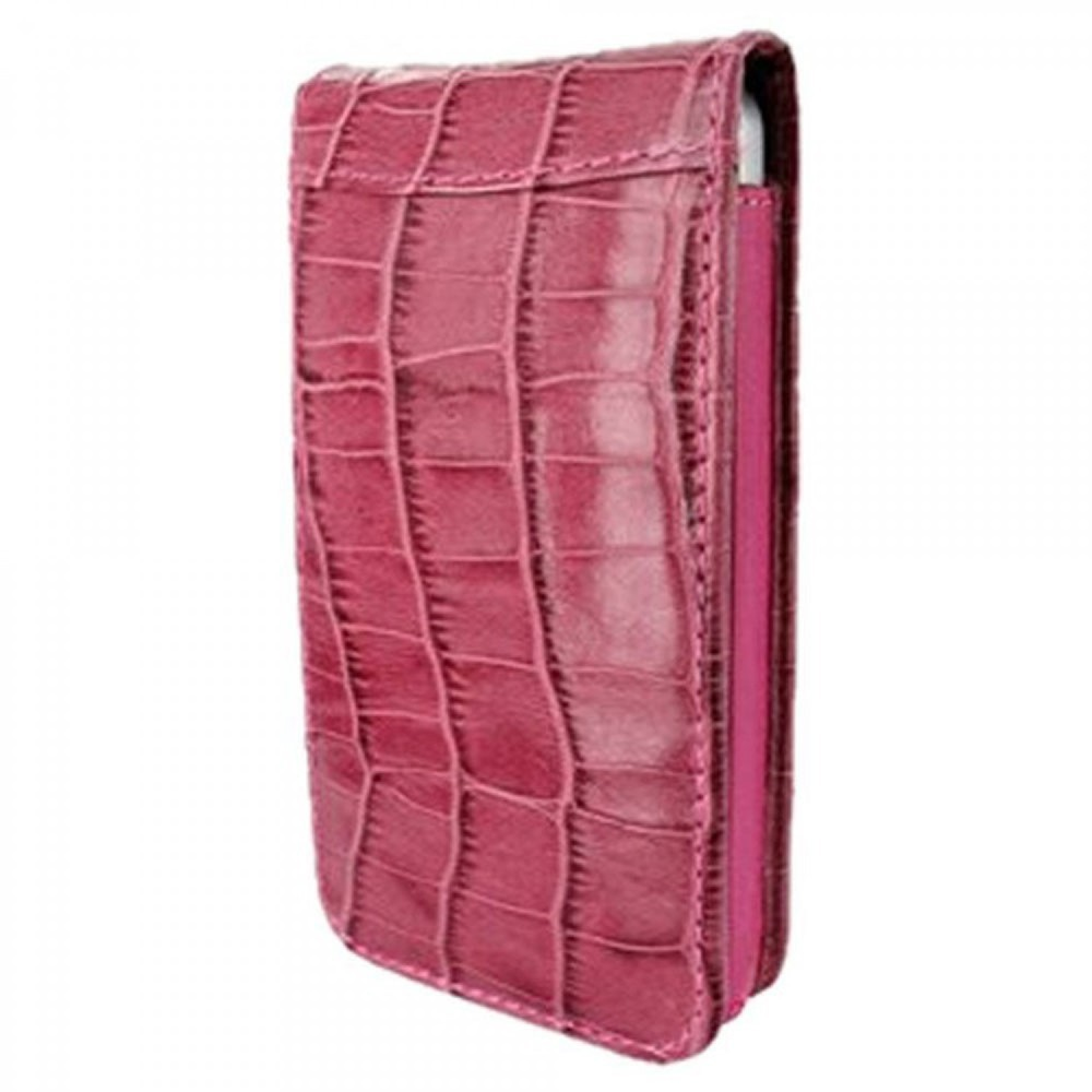 Piel Frama Magnetic iPhone 6(S) Crocodile Fuchsia