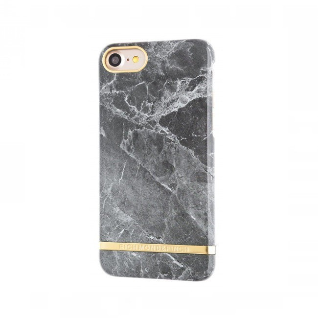 Richmond and Finch Marble Glossy iPhone 7 grijs