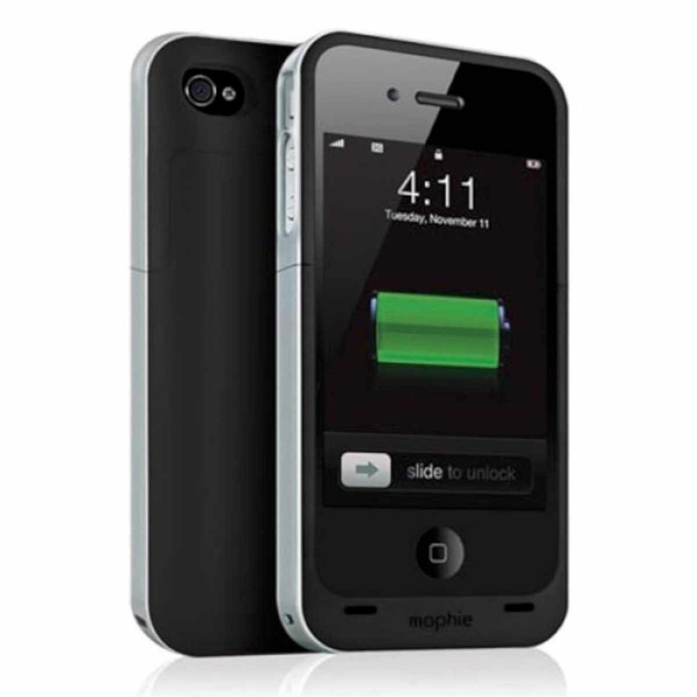 Mophie Juice Pack Air iPhone 4(S) zwart
