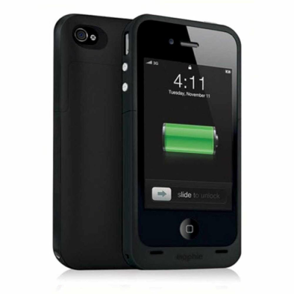 Mophie Juice Pack Plus iPhone 4(S) zwart