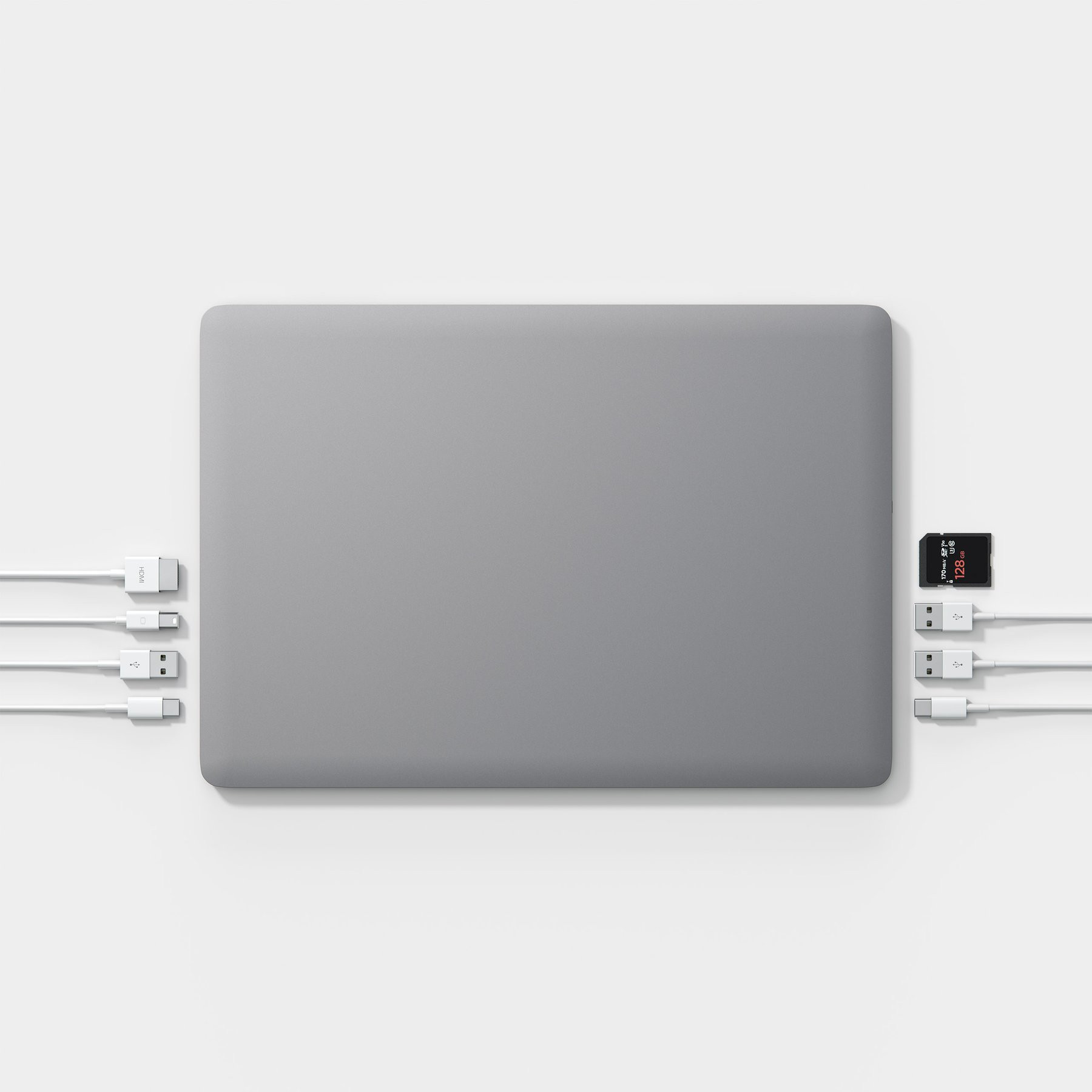 """Linedock 13"""" + 20000mAh space gray"""