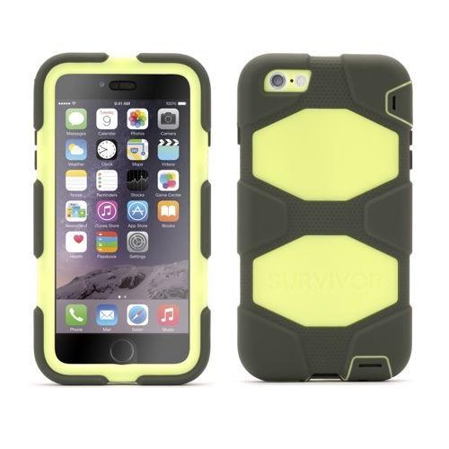 Griffin Survivor All-Terrain hardcase iPhone 6(S) Plus groen