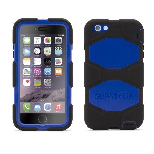 Griffin Survivor All-Terrain hardcase iPhone 6(S) Plus blauw/zwart