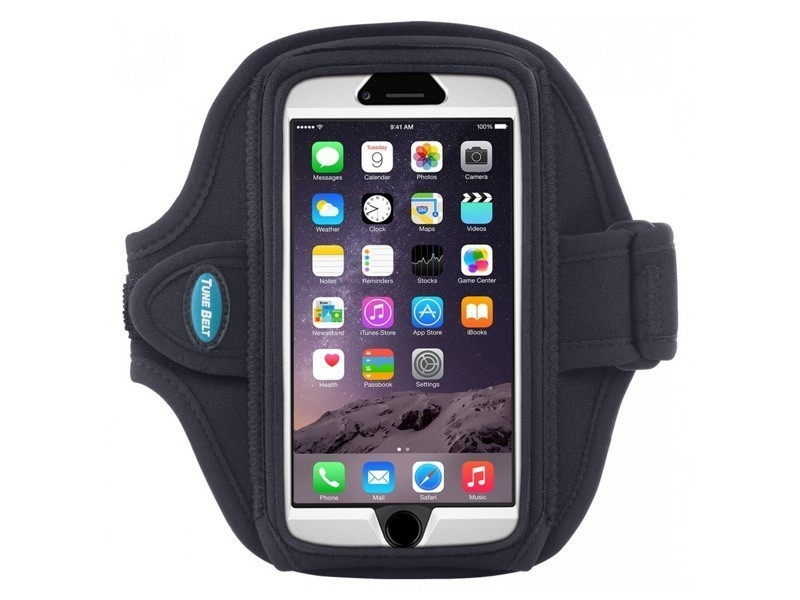 Tune Belt Sport armband AB92 iPhone 6(S) / 7 / 8 Plus zwart