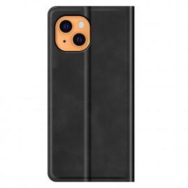Casecentive Magnetische Leren Wallet case iPhone 13 zwart