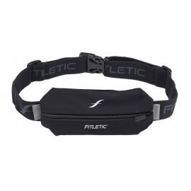 Fitletic Lycra Mini Sport Belt Black