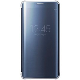 Samsung Clear View Cover Galaxy S6 Edge Plus blauw/zwart