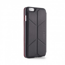 Element Case Soft-Tec Wallet iPhone 6(S) Plus zwart/rood