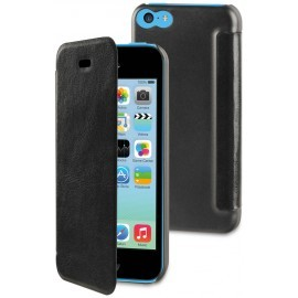 Muvit Easy Folio Book Case iPhone 5C zwart