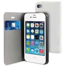Muvit Folio Card Case iPhone 4 / 4S White