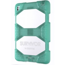 Griffin Survivor All-Terrain iPad Air 2/iPad Pro 9.7 groen/wit