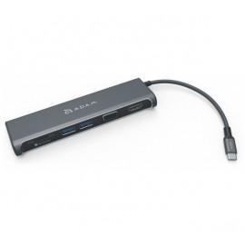 ADAM elements CASA Hub A03 USB-C 3.1 5 port Display grijs