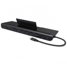 ADAM elements CASA Hub Pro USB-C 3.1 11-in-1 zwart